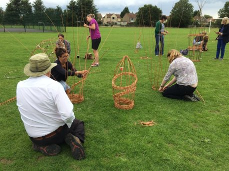 Willow sculpture workshop 2
