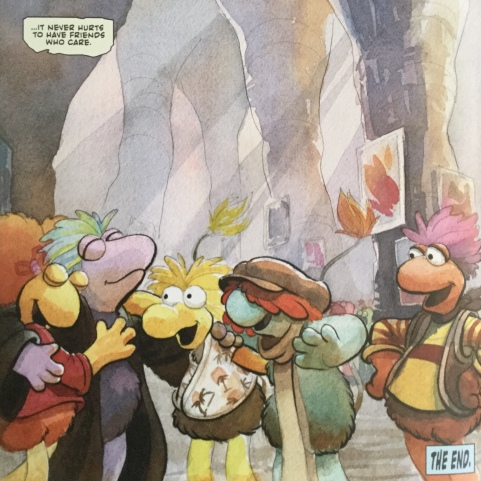 Fraggles - friends