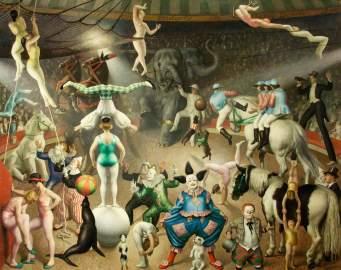 Knight, Laura; The Grand Parade; Charivari; Newport Museum and Art Gallery; http://www.artuk.org/artworks/the-grand-parade-charivari-156158
